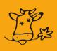 Icon mit dem Kopf einer Kuh
