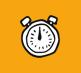 Icon mit einer Uhr